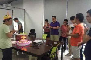 Bivocom held birthday party