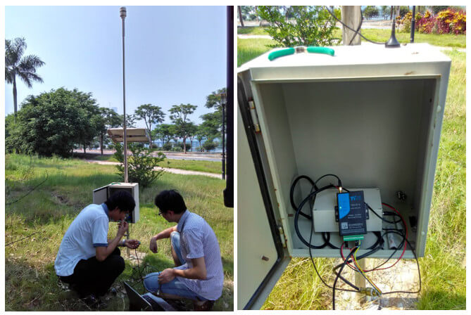noist monitoring, dust monitoring