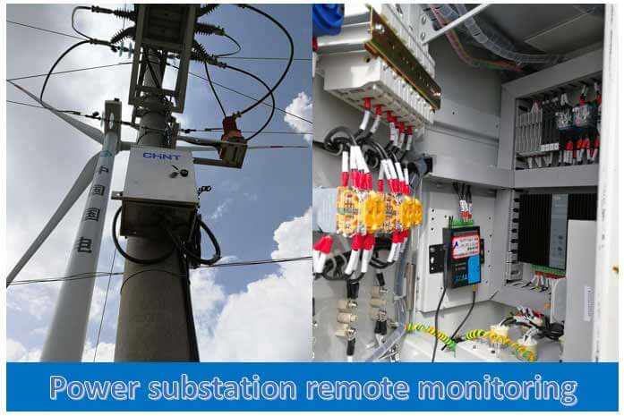 substation monitoring, lte-m nb-iot