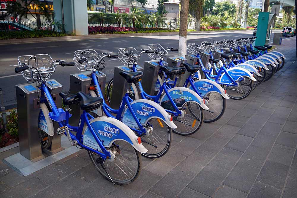 public-bicycle-rental-wireless-solution
