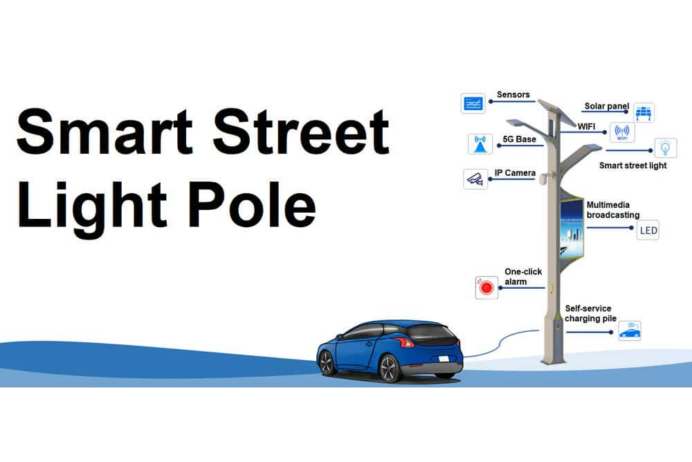 Bivocom Smart Street Light Pole