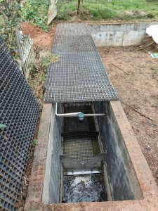 Wastewater treatment to river