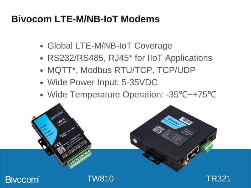 Bivocom NB-IoT Modems