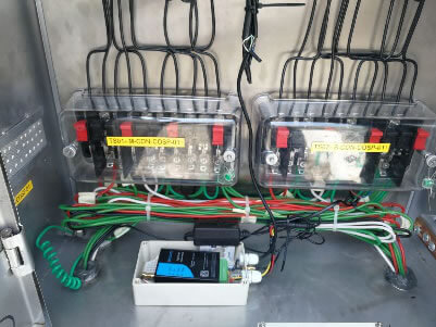 The industrial 4g modem TD210 and industrial LTE-M and NB-IoT TW810 have been widely used for automatic meter reading (AMR)